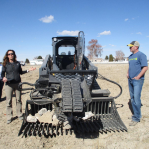 TerraClear rock picker featured in the Capital Press