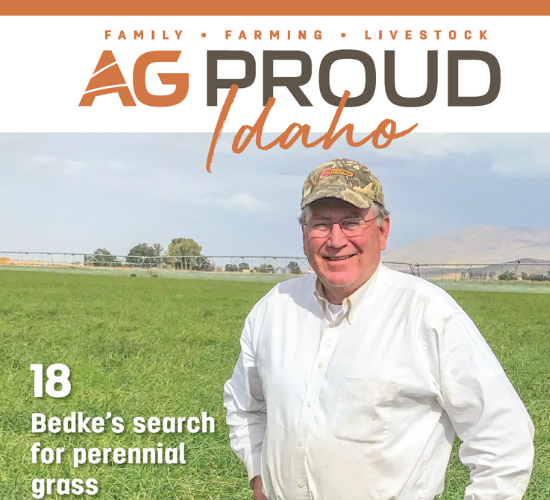 A Magazine Cover of AgProud explaining Terraclear.