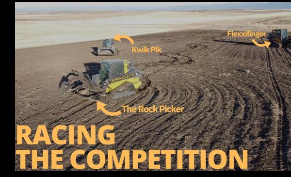 the Precision Rock Picker vs Competitors